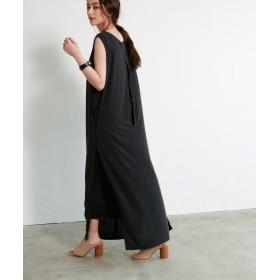 マージュール SLIT CUT DRESS レディース ブラック M 【marjour】