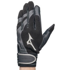 MIZUNO ミズノ 野球 トレーニング【両手用】 (ブラック×ブラック) お取り寄せ商品