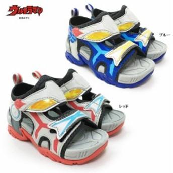 ウルトラマンX(エックス) UTM134 キッズ スポーツサンダル ベルクロ 面ファスナー マジックテープ キャラクター 男の子 男児 子供靴