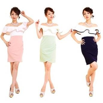 キャバ ドレス キャバドレス ミニドレス フリーサイズ ワンピース 3577 ナイトドレス パーティードレス キャバミニドレス レディース