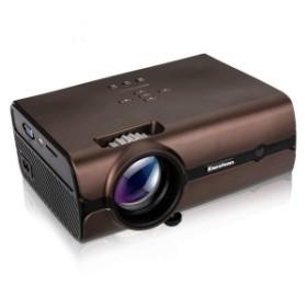 【送料無料】 BL-45 2200LM プロジェクター デュアルセンサー LED 1080PフルHD対応 HDMIケーブル付 AKM-108