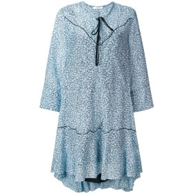Dorothee Schumacher oversized printed dress - ブルー
