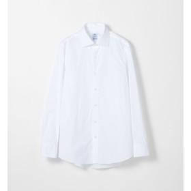 【トゥモローランド/TOMORROWLAND】 ERRICO FORMICOLA コットンサテン セミワイドカラー ドレスシャツ