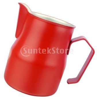 厚いステンレススチールコーヒー搾乳ミルクラッテジャグ投手