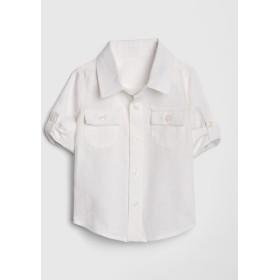 Gap コンバーチブルシャツ(リネン)