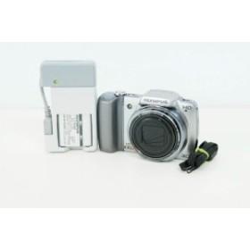【中古】OLYMPUSオリンパス コンパクトデジタルカメラ 1400万画素 STYLUS SZ-10 シルバー