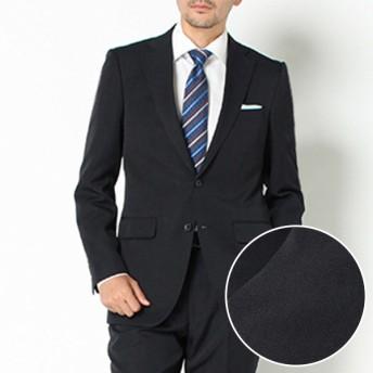 【ネット限定スーツ】レギュラーシャドーストライプ 2ボタンツータックスーツ(メンズ) コイアオ