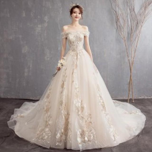 7c76060a6b955 結婚式 花嫁 白 ウエディングドレス ロングドレス 演奏会 フォーマルドレス 着痩せカラードレスパーティー