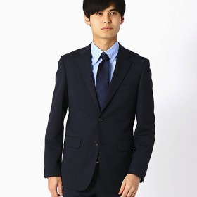 <COMME CA ISM (メンズ)> 《セットアップ》 ピンストライプ スーツジャケット(4701GL02) ネイビー【三越・伊勢丹/公式】