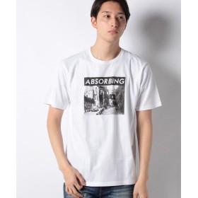 【10%OFF】 ウィゴー WEGO/フォトTシャツ メンズ ホワイト M 【WEGO】 【タイムセール開催中】
