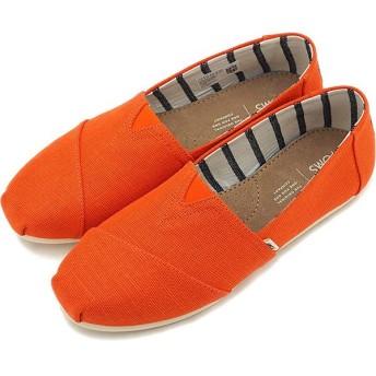 トムスTOMS レディース エスパドリーユ スリッポン WMS Alpargata トムズシューズ 靴 Cherry Tomato Heritage Canvas レッド系 10013503 SS19
