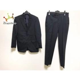 バーバリーブラックレーベル シングルスーツ サイズ36 S メンズ ダークネイビー×ライトブルー     スペシャル特価 20190709