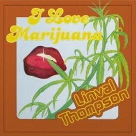 Linval Thompson/I Love Marijuana (Coloured Vinyl)(180g)(Ltd)