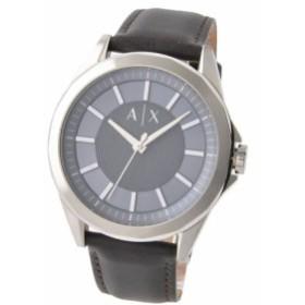 [即日発送]アルマーニエクスチェンジ メンズ 腕時計/ARMANI EXCHANGE レザー 腕時計 ブルー/シルバー/ダークブラウン