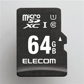 【エレコム】 マイクロSDカード MF-CAMR064GU11A スマートメディア