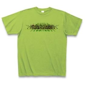 宇宙の光◆アート文字◆ロゴ◆ヘビーウェイト◆半袖◆Tシャツ◆ライム◆各サイズ選択可