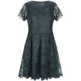 《セール開催中》MARIELLA ROSATI レディース ミニワンピース&ドレス ダークグリーン 44 ポリエステル 100%