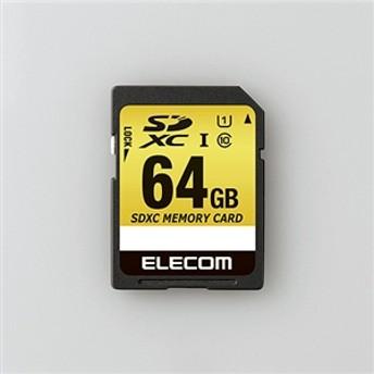 【エレコム】 SDカード MF-CASD064GU11A SDカード