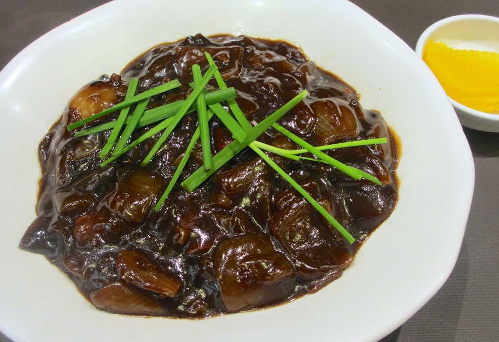 韓国版ジャージャー麺のチャンジョンミョン