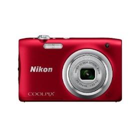 Nikon COOLPIX A100 レッド [コンパクトデジタルカメラ (2005万画素)]