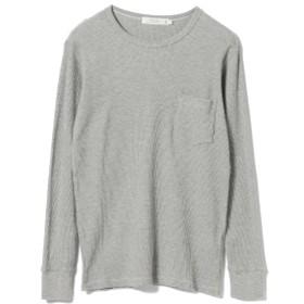 BEAMS LIGHTS / サーマル ロングスリーブ Tシャツ メンズ Tシャツ LT. GREY XL