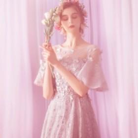 ブライズメイドドレス 花嫁 ロングドレス 演奏会 結婚式 二次会 パーティードレス 卒業式 お呼ばれワンピース