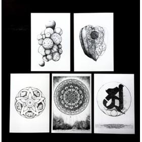 ポストカード 「哲学」 5枚セット