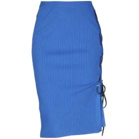 《期間限定セール開催中!》PINKO レディース 7分丈スカート ブルー M 70% レーヨン 30% ポリエステル