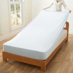 消臭・吸水速乾・抗菌防臭加工のびのびボックスシーツ・枕カバー(単品)