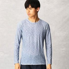 【SALE(伊勢丹)】<ARTISAN MEN> フロント スプレーTシャツ(5940TL01) ネービーブルー 【三越・伊勢丹/公式】