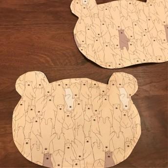 熊ちゃんランチョンマット