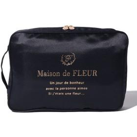 ad4983ce035d メゾンドフルール トラベルシューズケース レディース ネイビー FREE 【Maison de FLEUR】