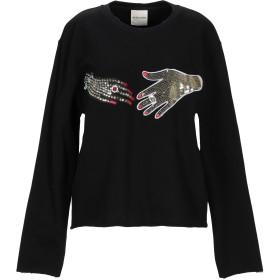 《期間限定セール開催中!》KENGSTAR レディース スウェットシャツ ブラック XS コットン 100%