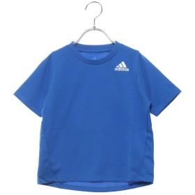 アディダス adidas ジュニア 半袖機能Tシャツ BTRNワンポイントロゴTシャツ DU9771