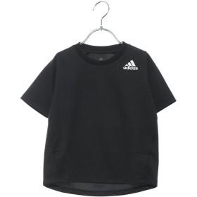 アディダス adidas ジュニア 半袖機能Tシャツ BTRNワンポイントロゴTシャツ DU9768