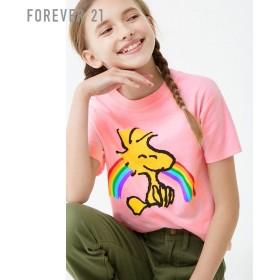 FOREVER21 フォーエバー21 【[KIDS]ウッドストックTシャツ】(5,000円以上購入で送料無料)
