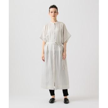 【オンワード】 JOSEPH WOMEN(ジョゼフ ウィメン) JASPER / BLANKET STRIPE ドレス / ワンピース アイボリー 38 レディース 【送料無料】