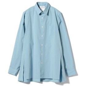 DIGAWEL / Long Shirt メンズ カジュアルシャツ SAX 2