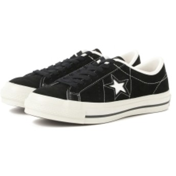 CONVERSE / ONE STAR J SUEDE レディース スニーカー BLACK 24