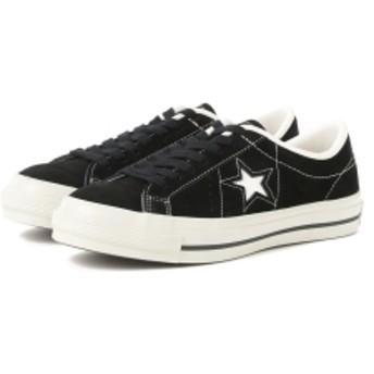 CONVERSE / ONE STAR J SUEDE レディース スニーカー BLACK 24