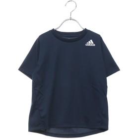 アディダス adidas ジュニア 半袖機能Tシャツ BTRNワンポイントロゴTシャツ DU9769