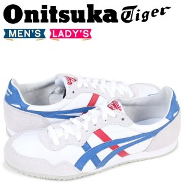 12aec97986475 オニツカタイガー Onitsuka Tiger セラーノ SERRANO メンズ レディース スニーカー D109L-0142 TH109L-0142  ホワイト