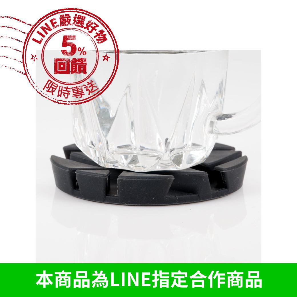 【MUEMMA】 PROP Coaster 極簡時尚多功能手機平板支架杯墊 (2入/盒)