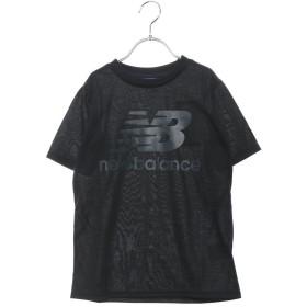 ニューバランス new balance ジュニア 半袖ラガーシャツ JJTP9233 JJTP9233 (ブラック)