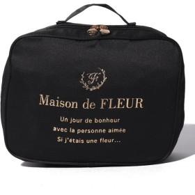 メゾンドフルール トラベルランジェリーケース レディース ブラック FREE 【Maison de FLEUR】
