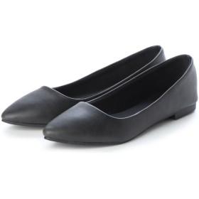 ジーラ GeeRA 【美ラク】足にフィット!やわらかパンプス (黒)