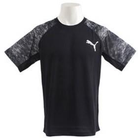 【Super Sports XEBIO & mall店:トップス】【ゼビオ限定】 TRA グラフィックTシャツ 514429 43 BLK
