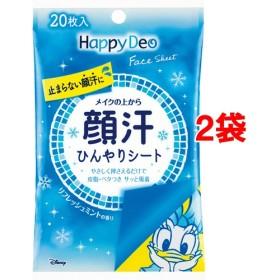 マンダム ハッピーデオ フェイスシート リフレッシュミントの香り (20枚入2コセット)