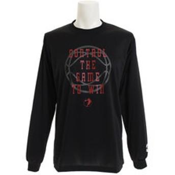 【Super Sports XEBIO & mall店:スポーツ】ドライプラス メッセージTシャツ 751G8ES8720 BLK
