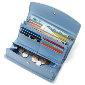 シャインカラーで気分もアップ 大人の賢い7つ星 収納上手な長財布 フェリシモ FELISSIMO【送料無料】